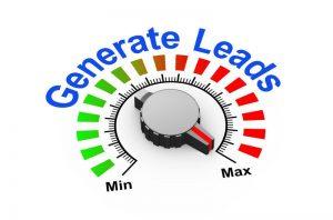 Lead gen with sales intelligence